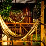 Hammocks outside your room offer a relaxing spot to read