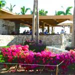 Outside Breakfast area -- right on the beach