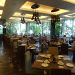 Dining is a pleasure in the Glass House