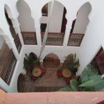view of one of the central courtyards from room
