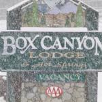 Foto de Box Canyon Lodge & Hot Springs