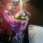 Flowers upon arrival - special request