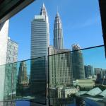 "Petronas Tower from ""Cedar on 15"""