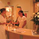 Rezeption in the wellness area