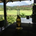 bar at golf course