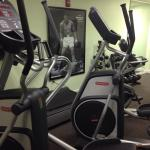 Gym is smaller than a regular guest room!!!