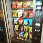 Snack machine in laundry
