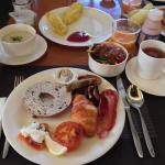 Breakfast at The Cafe on 2F, Oct 2014
