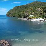 Marigot Bay, home of Oasis Marigot Hotel & Villas