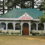 Cafe at The Chail Palace by Exploring Hawk