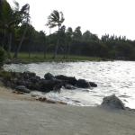 One of the beach areas