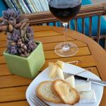 Wine and cheese in the afternoon - each day a different selection