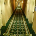 Hallway, like the carpet