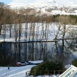 View from our room at Killin Hotel