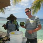 Clay and the Coconut Man