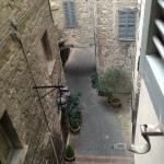 View from rear bedroom window...full of character. The room all had views onto another street.