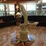 Sweet dolphin in the lobby