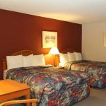 Picture of Beds with Lamp On