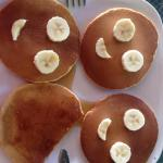 Best breakfast ever! The smilies really represent the kindness we have encountered over here.