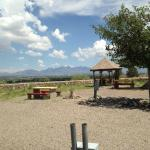 Guest Gazebo with Organ Mountains and City Overlook