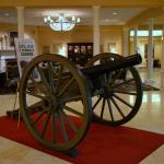 Authentic Cannon in Lobby