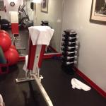 Small gym then $17 resort fee per night