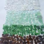 One day's sea glass haul!