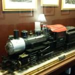 Many trains and history about the hotel and it's association with the Union station through the