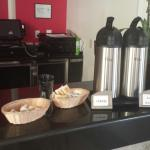 Coffee station in lobby 24-7