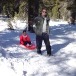 One-man open sled