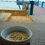 breakfast by the beach