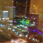 View from room window 8th floor front
