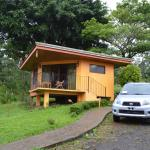 Our bungalow with parking close