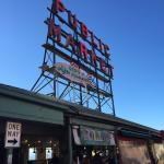 Nearby Entrance to Pike Place Market