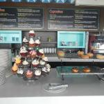 Cupcake and Coffee Bar
