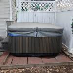 Uncle Bill's Place has a new hot tub!