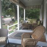 Another view of the front porch - very comfortable!