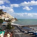 february in amalfi
