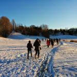Winter Hike with our team