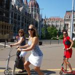Budapest Kick Scooter Tour