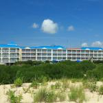 We are located across the street from the gorgeous beach.