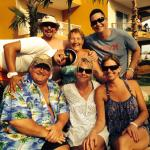 Friends we met at Villa Del Palmar ��������