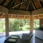 Open Air Lounge of our bungalow