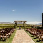 Ceremony location at Ponte Winery