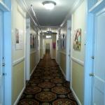 hallway.  nude pictures, all down hall.  i didn't include pics of that.