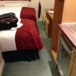 Tiny proportions of the room - same cost as a suite??? !!!