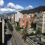 Bogota looks great from our room