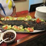 one of the grilled fish dinner buffets