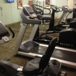 Fitness Area Equipment