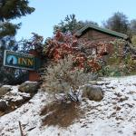 Winter snow at the Sequoia Village Inn